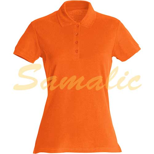 POLO BASIC COLOR LADIES CLIQUE REF 028231