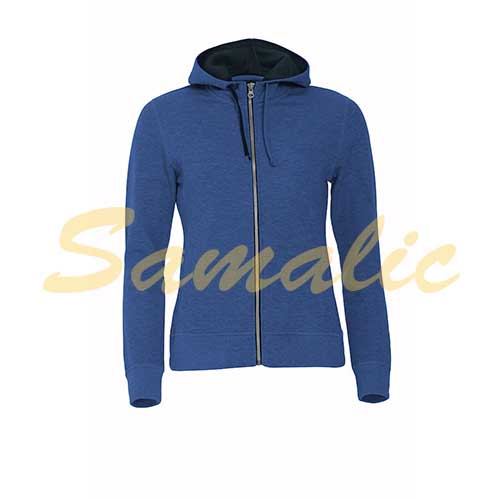 SUDADERA MUJER CLASSIC HOODY FULL ZIP LADIES MUJER CLIQUE REF 021045